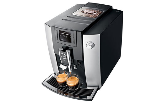 Jura Impressa E6 Platinum Super Automatic Coffee Machine