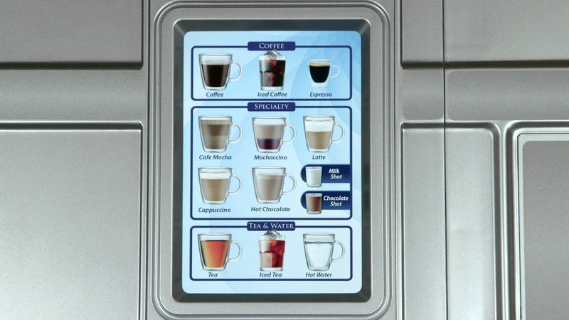 NewCo CX Touch Commercial Pod Office Coffee Machine