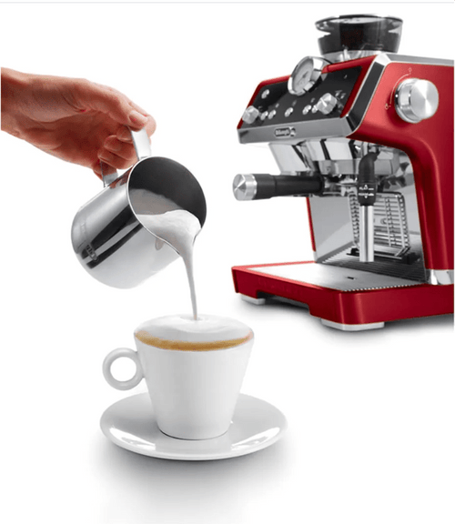 La Specialista Espresso Machine Red with Sensor Grinder & Dual Heating System, Stainless Steel - EC9335R