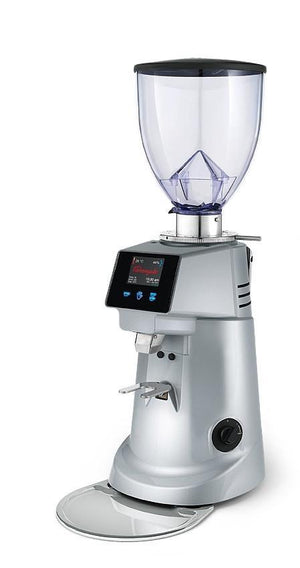 Fiorenzato F71 Conical Electronic Coffee Grinder - Silver