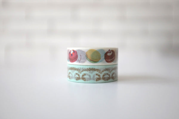 Versaille-inspired washi tape set
