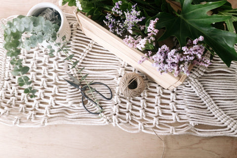 Clove Macrame Table Runner (Made to order only)