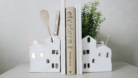 Hjem Ceramic Bookends