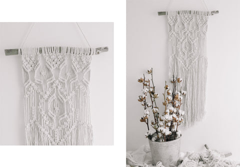 Terra Macrame Wall Hanging (1 available)