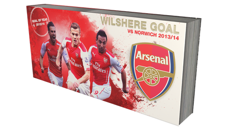 Wilshere goal vs Norwich 13/14 - PREMIUM EDITION - FlipMadness Official Flipbooks