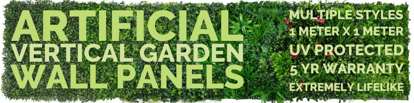 Artificial Vertical Garden and Green Wall Panels - Vertical Gardens Direct