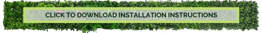download artificial vertical garden panel installation instructions