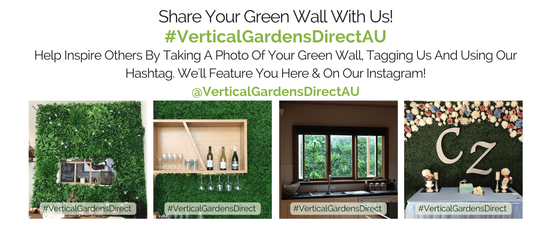 #VerticalGardensDirectAU Vertical Gardens Direct Social Media