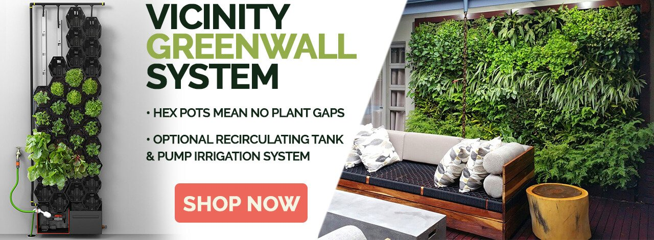 Vicinity Greenwall System Banner
