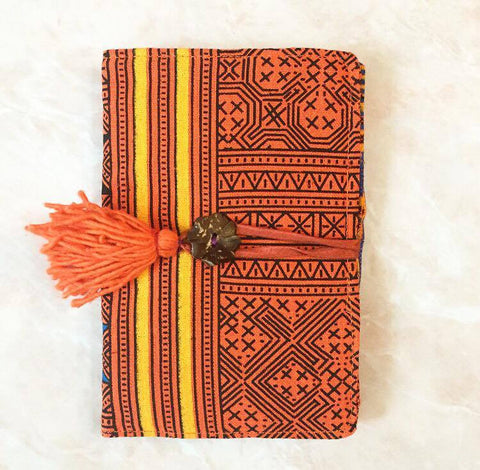 Beautiful book cover.......Orange tassel