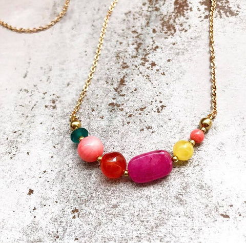 It´s like candy brass necklace