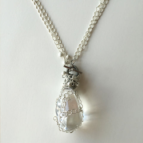 S-Pure Quartz Crystal NECKLACE