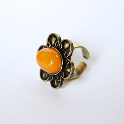MIRROR YELLOW RING