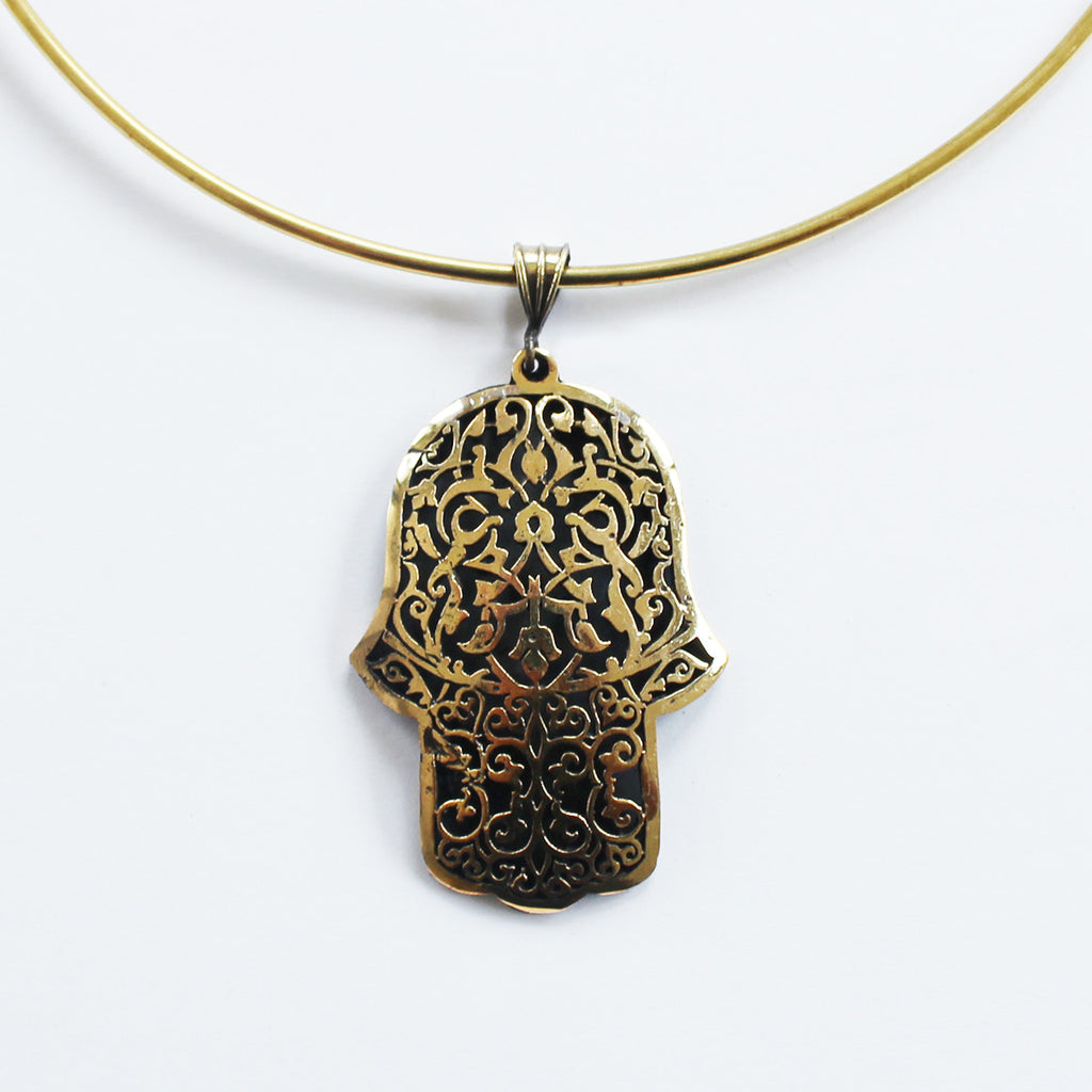 KHAMSA NECKLACE
