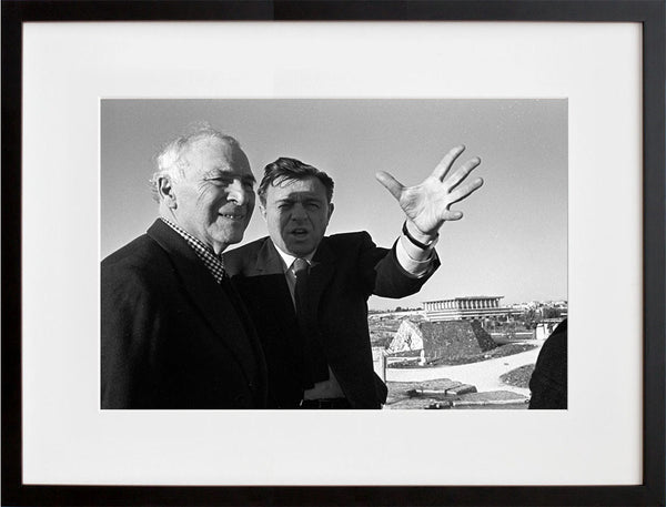 Chagall in Israel - Marc Chagall and Teddy Kollek