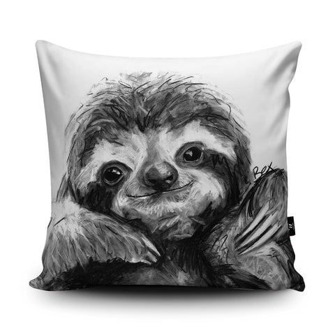 Sloth BW22U Cushion by Bex Williams