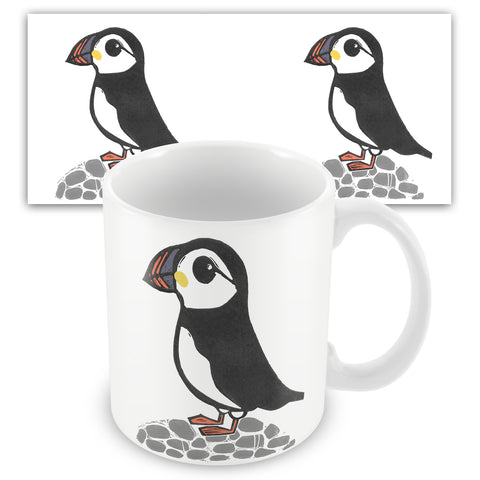 Puffin BS06M Ceramic Mug by Bells Scambler
