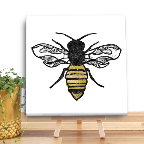 The Pollinator Bee Canvas Mini by Bells Scambler