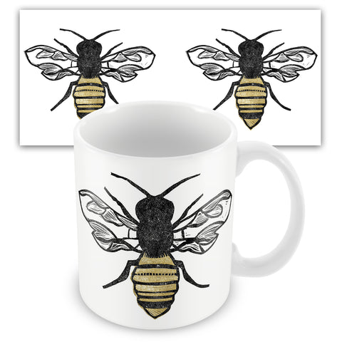 The Pollinator BS04M Ceramic Mug by Bells Scambler