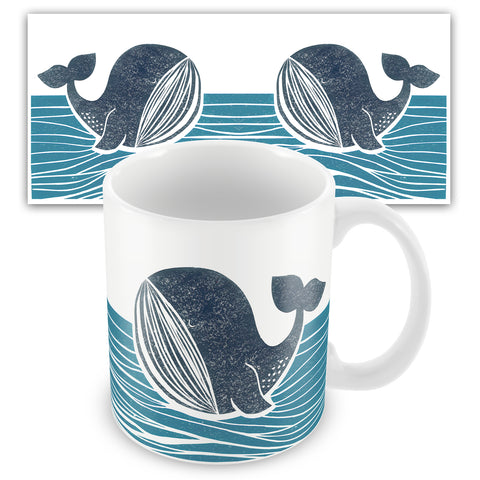 Whale of a Time BS05M Ceramic Mug by Bells Scambler