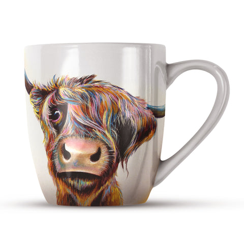 A Bad Hair Day AB01H Bone China Mug by Adam Barsby