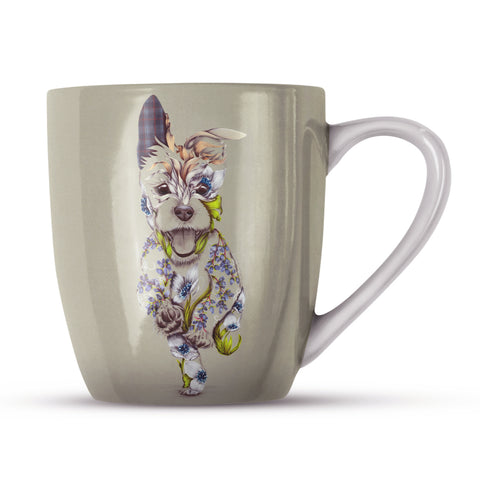Rustic Cairn KB29H Bone China Mug by Kat Baxter