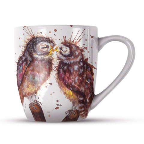Splatter Loved Up KW62H Bone China Mug by Katherine Williams