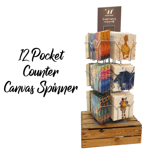 12-pocket Counter Canvas Spinner