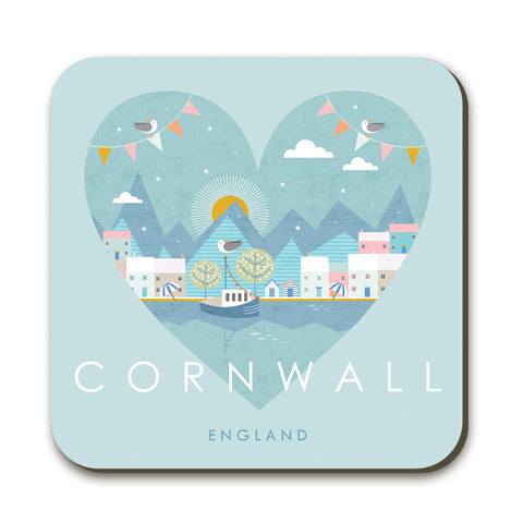 Cornwall HY03C Coaster by Hilary Yafai