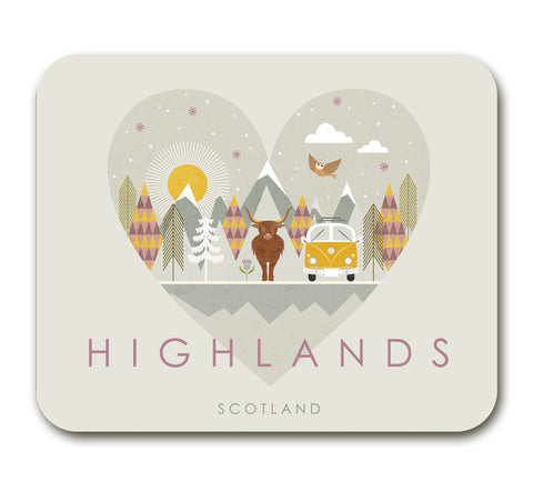 Highlands HY05A Placemat by Hilary Yafai
