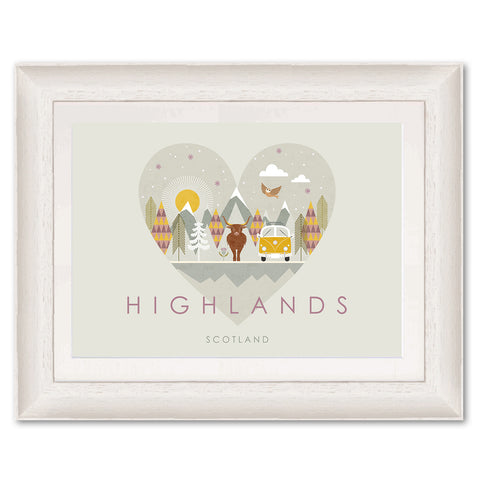 Highlands HY05P Original Print by Hilary Yafai