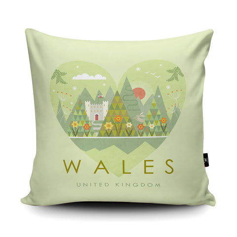 Wales HY10 Cushion by Hilary Yafai