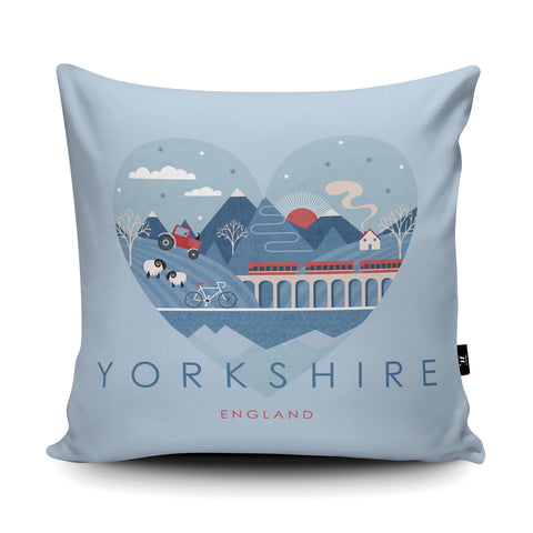 Yorkshire HY12 Cushion by Hilary Yafai
