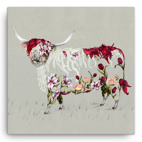 Rustic Bonnie KB28W Large Canvas by Kat Baxter