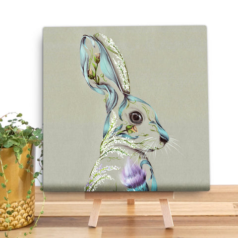Rustic Hare KB30V Canvas Mini by Kat Baxter