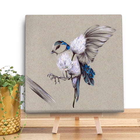 Rustic Bird Flight KB27V Canvas Mini by Kat Baxter
