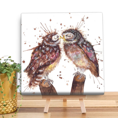 Splatter Loved Up KW62V Canvas Mini by Katherine Williams