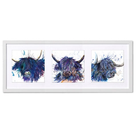 The Highlanders KW64X Triptych by Katherine Williams