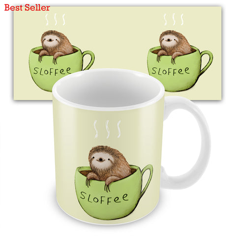 Sloffee SC21M Mug by Sophie Corrigan