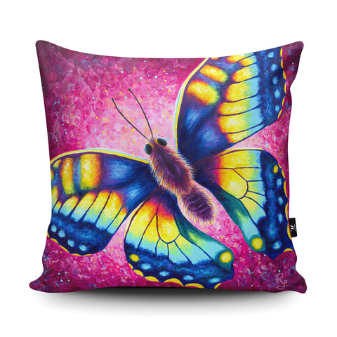 Butterfly RR01 Cushion by Rachell Froud