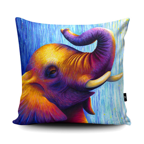 Elephant RR03 Cushion by Rachell Froud