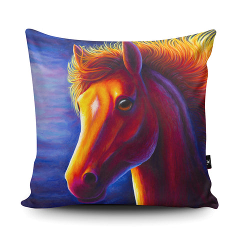 Horse RR06 Cushion by Rachell Froud
