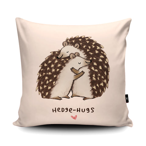 Hedgehugs SC09U Cushion by Sophie Corrigan