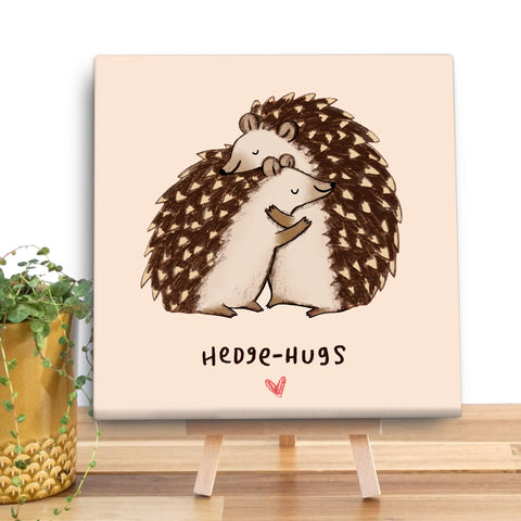 Hedgehugs Canvas Mini by Sophie Corrigan