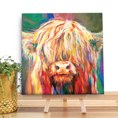 Baby Highland SG07V Canvas Mini by Sue Gardner