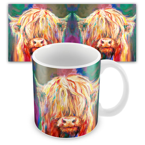Baby Highland SG07M Ceramic Mug by Sue Gardner