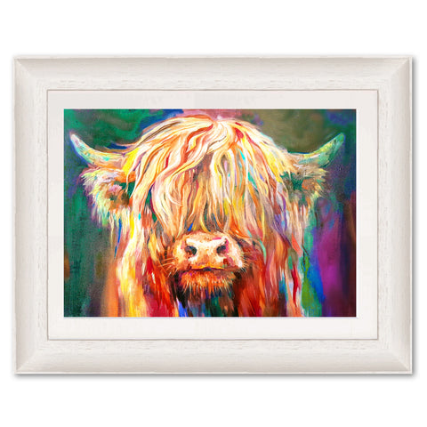 Baby Highland SG07 Original Print by Sue Gardner