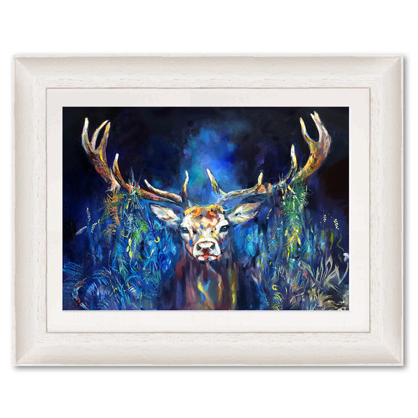 Blue Grazing Stag SG19P