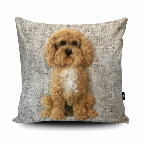 Cockapoo SA09U Cushion by Sharon Salt