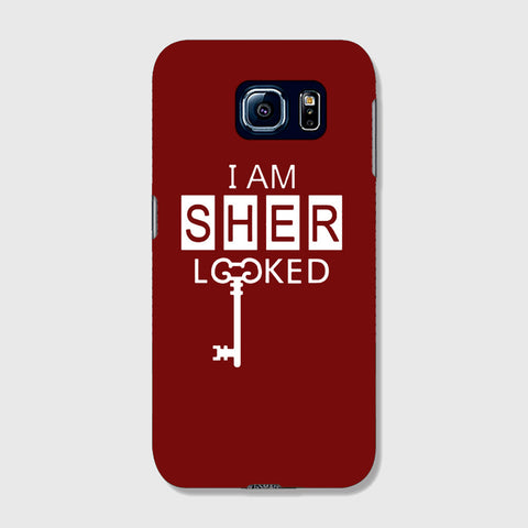 I Am Sherlocked  SAMSUNG GALAXY S6 CASE - Edmotic